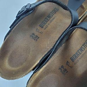 Birkenstock Shoes - Birkenstock Black leather sandals